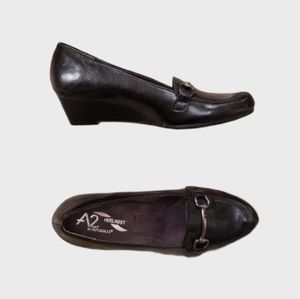 A2 Aerosoles Good Condition Heelrest Wedge Shoes